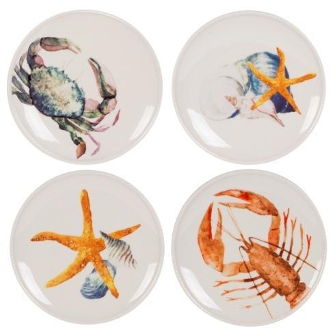 $39.99 8.5IN Accent Plates, Set of 4