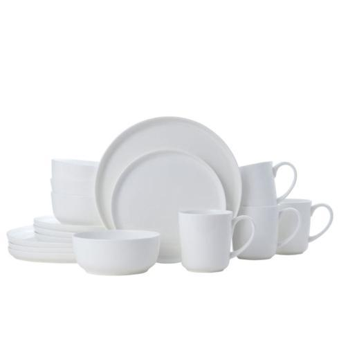 $172.00 Samantha 16PC Dinnerware Set, Service for 4 (Brown Box Remailer)