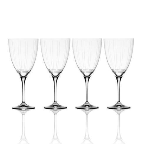 $49.99 Berlin 17oz. Red Wine Glass, Set of 4 (Brown Box Remailer)
