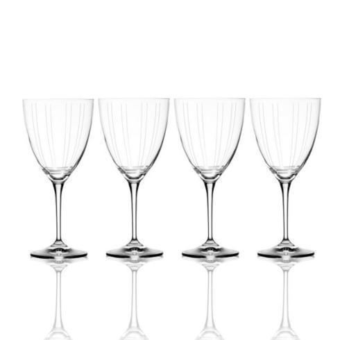 $49.99 Berlin 13.5oz. White Wine Glass, Set of 4 (Brown Box Remailer)