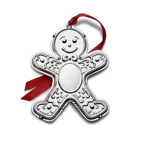 $39.99 Silver-plated Engraveable Gingerbread Man   9th edition
