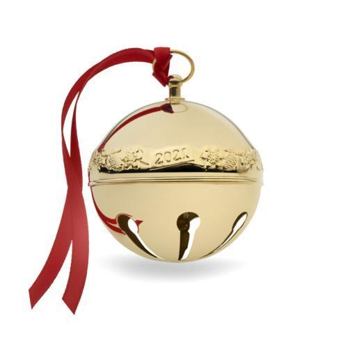 $58.99 Gold-plated Sleigh Bell, 32nd Edition
