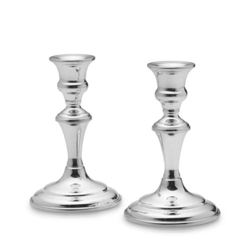 "$200.00 Medium Candlesticks, 6"" pair"