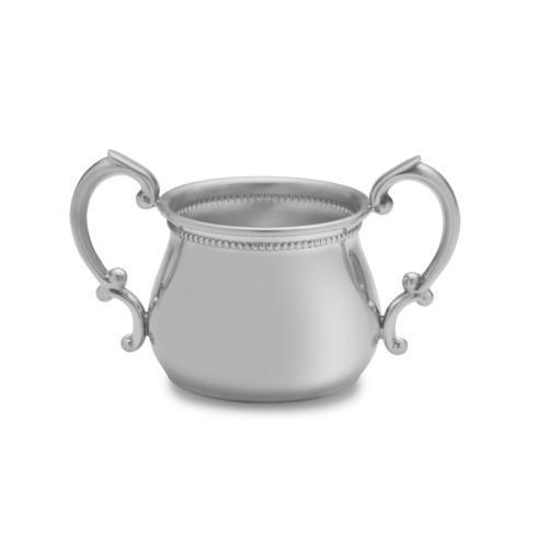 $90.00 Beaded Double Handle Baby Cup
