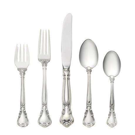 $550.00 5 Piece Place Setting