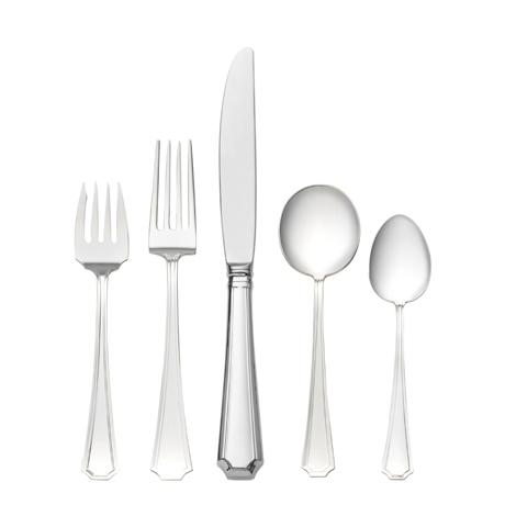 $720.00 5 Piece Place Setting with Cream Soup Spoon