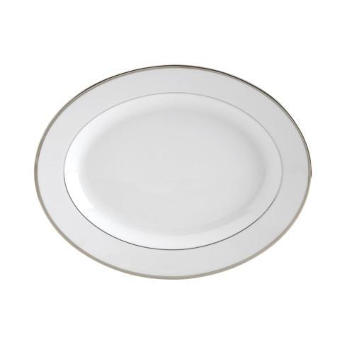 Mikasa  Cameo Platinum  Cameo Platinum Oval Platter $89.99