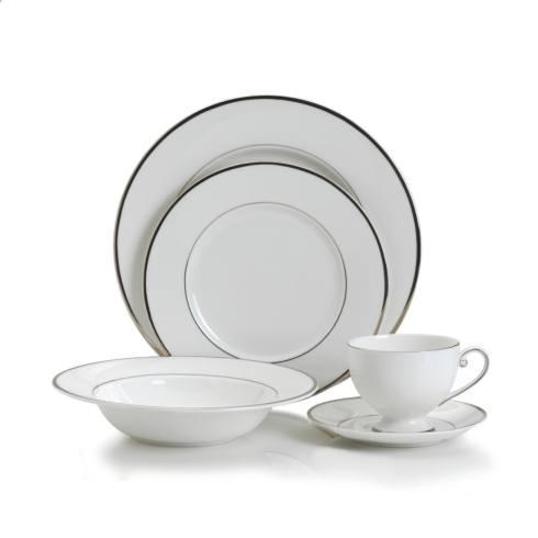 $52.99 Cameo Platinum 5 PC Place Setting, Service for 1