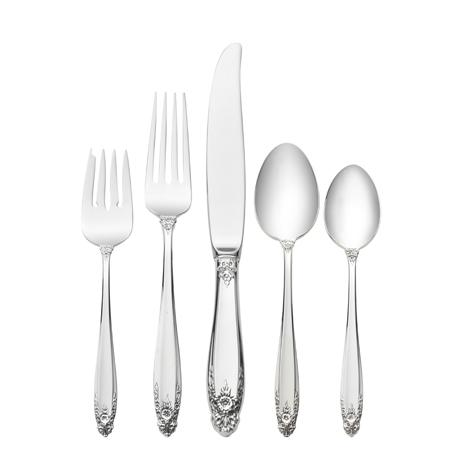 $590.00 5 Piece Dinner Setting with Dessert Spoon