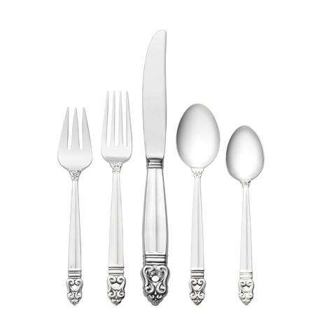 5 Piece Place Setting with Dessert Spoon