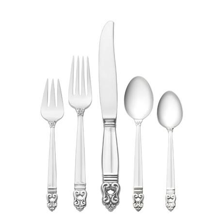 $630.00 5 Piece Dinner Setting with Dessert Spoon
