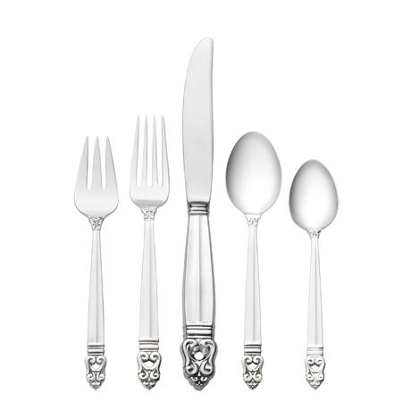 $12,300.00 66 Piece Set, Place Size with Dessert Spoon. Service for 12