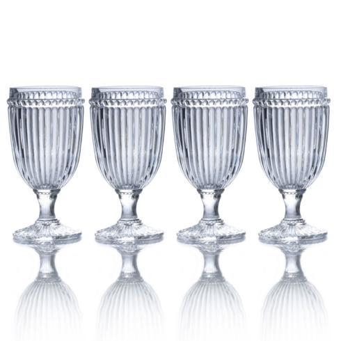 $29.99 Clear Iced Beverage, Set of 4