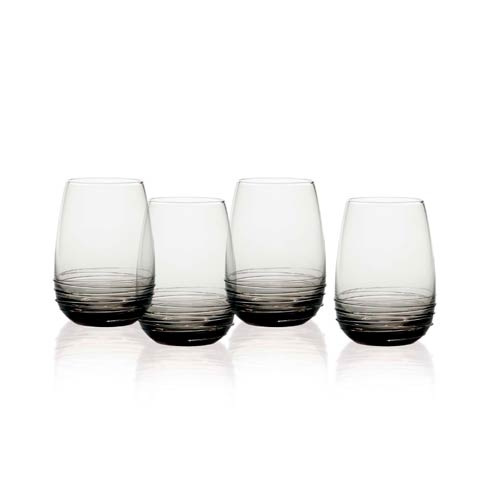 $58.00 Stemless Wine 16.5 Oz, Set Of 4