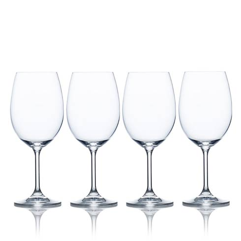 $19.99 15 Oz White Wine, Set Of 4