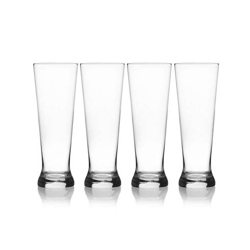 $19.99 22 Oz Pilsner Glass, Set Of 4