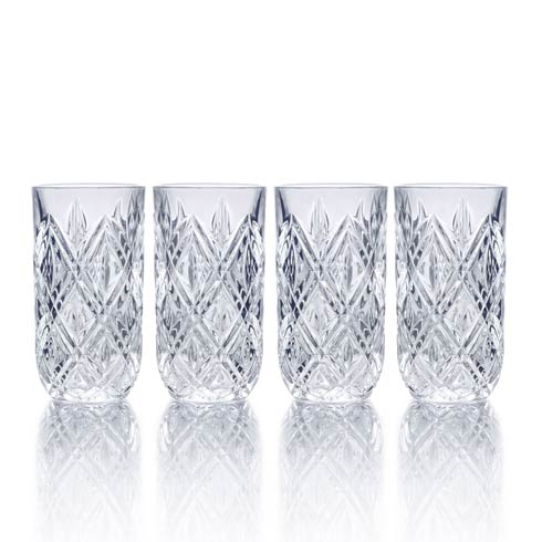 $40.00 12 Oz Highball, Set Of 4
