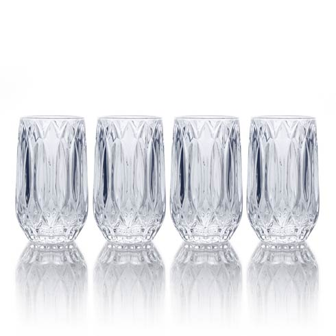 $40.00 13 Oz Highball, Set Of 4