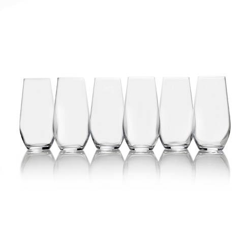 $39.99 Gianna 19.5oz. Highball Glass, Set of 6