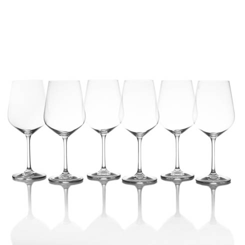 $60.00 19.75 Oz Red Wine, Set Of 6
