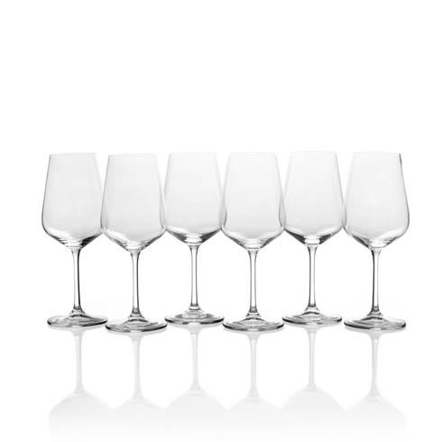 $39.99 Gianna 15.25oz. White Wine Glass, Set of 6