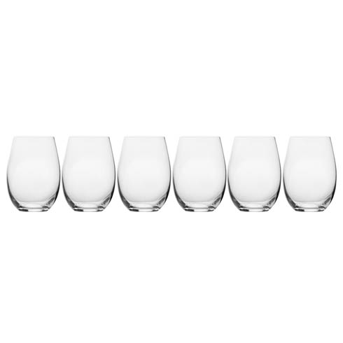 $39.99 18.75 Oz Stemless Wine, Set Of 6