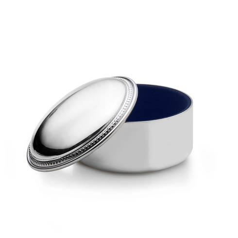 $95.00 Round Beaded Jewelry Box