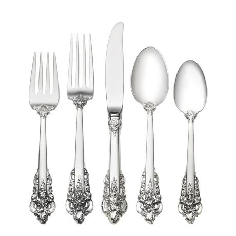Wallace  Grande Baroque 5 Piece Place Setting $600.00