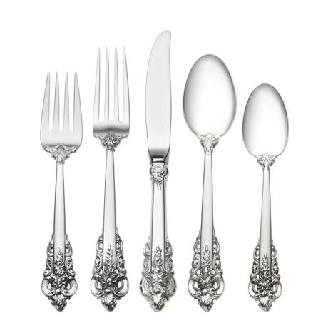 $600.00 5 Piece Place Setting with Dessert Spoon