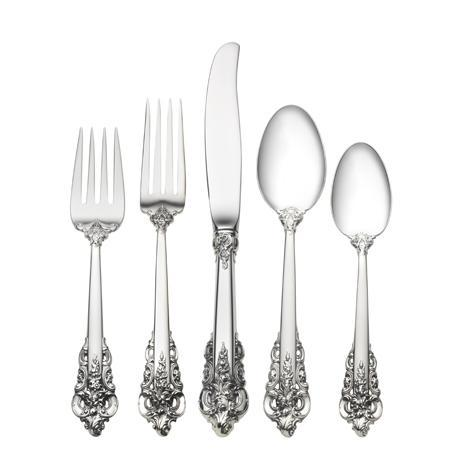 $760.00 5 Piece Dinner Setting with Dessert Spoon