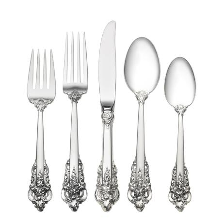 46 Piece Set, Place Size with Dessert Spoon. Service for 8