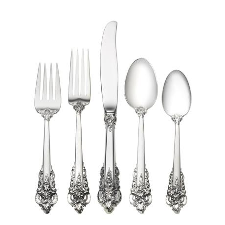 $6,000.00 46 Piece Set, Dinner Size. Service for 8