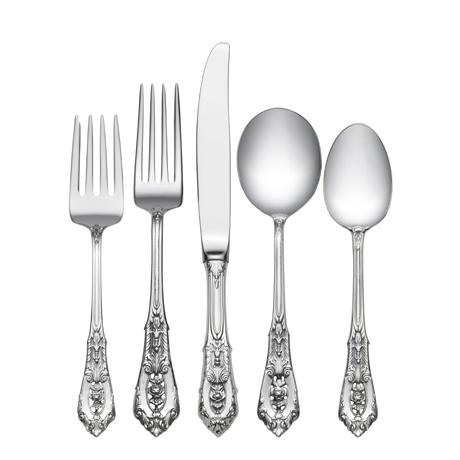 $7,300.00 66 Piece Set, Place Size with Cream Soup Spoon. Service for 12