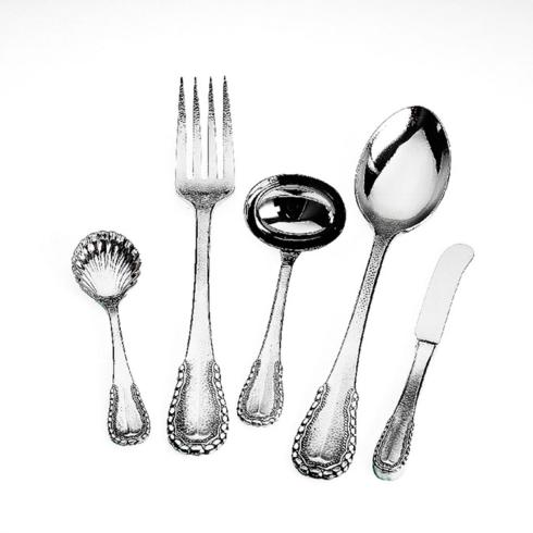 Merletto 5pc Hostess Set