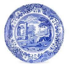 Spode   Blue Italian Dinner Plate $33.00