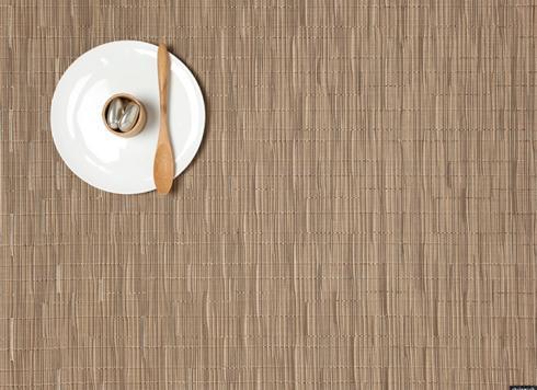 $15.00 Bamboo Placemat (rectangular) in Camel