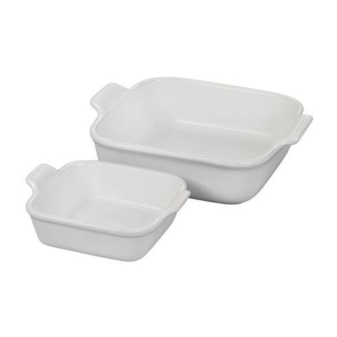 Le Creuset   Heritage Square Baking Dishes, Set of 2 $50.00