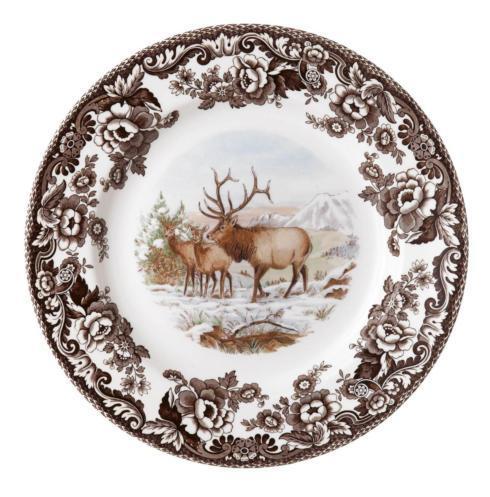 Spode   Woodland Dinner Plate, Elk $46.25