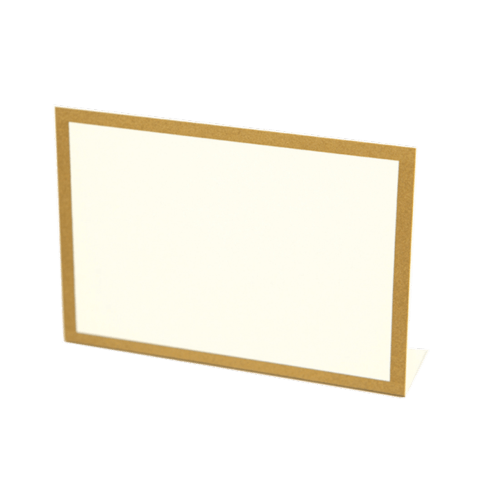 Hester and Cook   Gold frame place cards set 12 $7.00