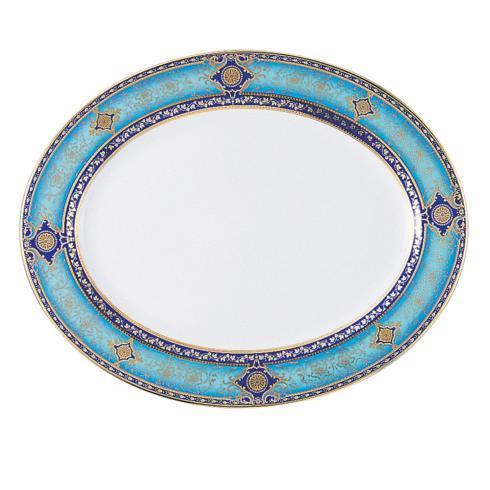Bernardaud  Grace Oval platter 17