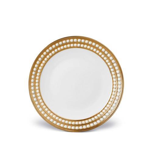 Perlee Dessert Plate-Gold