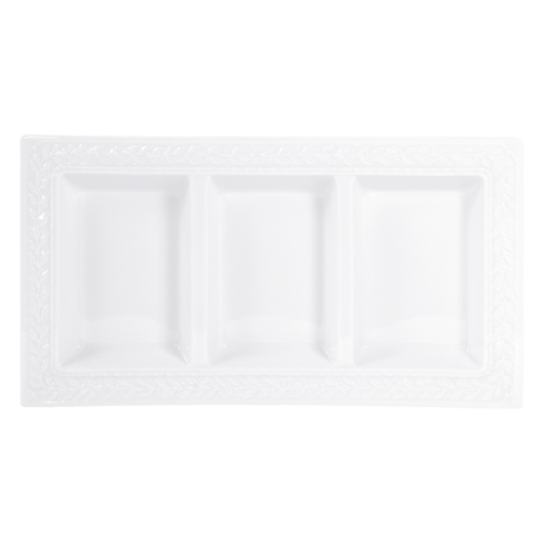 Bernardaud  Louvre Three - Compartment Try $113.00