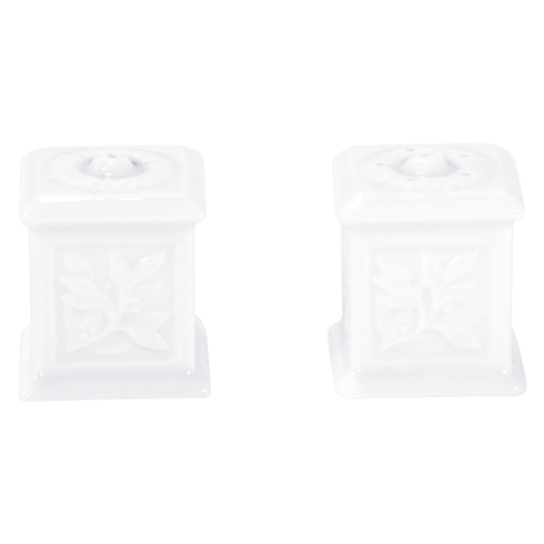 Bernardaud  Louvre Salt - Pepper Set $95.00