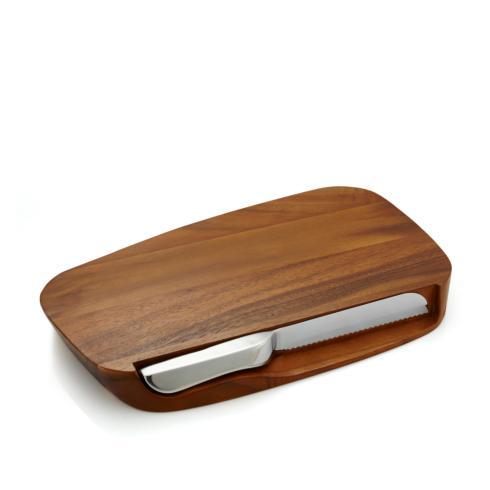 Nambé   Blend Bread Board w/Knife $125.00