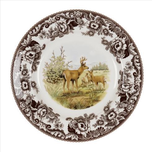 Spode   Woodland Dinner Plate, Mule Deer $46.25