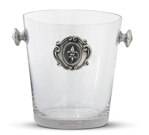 Medici Fiore Glass Ice Bucket