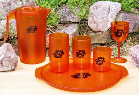 Bentley Drinkware   Bentley Collegiate Oklahoma State University Set/4 20oz Cups $28.00