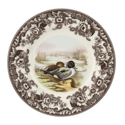 $46.25 Woodland Dinner Plate, Pintail