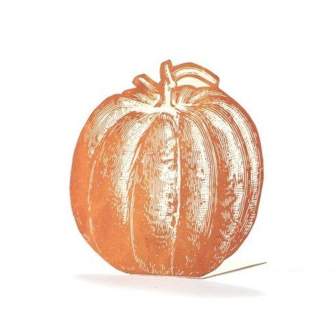 Hester and Cook   Pumpkin place cards set 12 $10.50