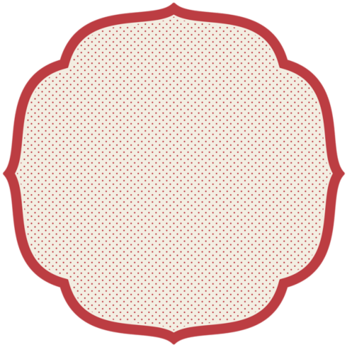 Hester and Cook   Red swiss dot placemat set 12 $20.00